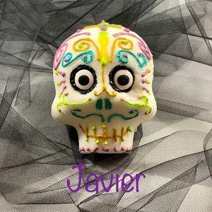 REAL Handmade Sugar Skull Dia de los Muertos